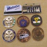 Customized Metal 3D Coin Nypd Challenge Coin with Soft Enamel