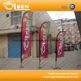Outdoor Promotional Beach Flag for Advertising