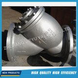 ANSI Wcb/Stainless Steel Flanged Y Strainer