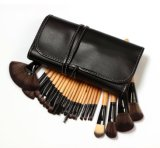 Wood Color 24PCS Makeup Brush Professional