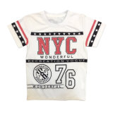 Custom Design Cotton Kids T Shirt