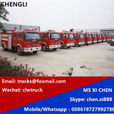 Dongfeng Dlk 4X2 LHD Water Tank Fire Fighting Truck
