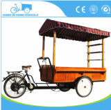 Hot Sale Ice Cream Coffee Cargo Bike with Single Speed Reverse Trike Three Wheel Bicycle for Adults
