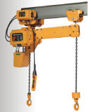 New Model 1 Ton Electric Construction Chain Gear Hoist with Motorized Trolley or Manual Trolley
