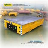 Mecanum Wheels Transport Trailer No Rail Transfer Cart on Cement