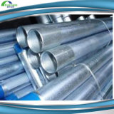 ERW Galvanized Steel Pipes with Thread and Cap