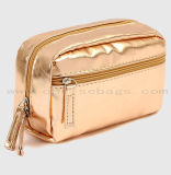 New Design Elegant Rectangle Women Cosmetic Bag Hand Makeup Pouch Bag