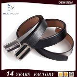 Fashion Western Rhinestone Genuine Cowhide Leather Men′s Black Belts
