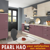Modern Design Melamine Lacquer MDF Wood Kitchen Cabinets