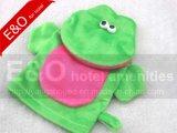 Frog Baby SPA Bath Glove Exfoliating Mitt Animal Frog Hand Puppet