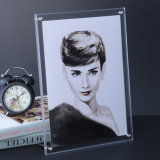 Acrylic Picture Frames & Photo Albums for Wedding, Home, Booth decoration