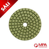 Resin Diamond Flexible Dry Wet Polishing Pad for Granite Marble