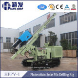 2016 New Type Photovoltaic Solar Spiral Pile Drilling Rig (HFPV-1)