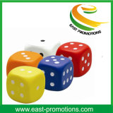 PU Foam Anti-Stress Toy Dice Design Stress Balls