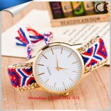 Lovely Popular Quartz Women′s Watch with Cloth Band Fs627