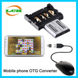 Creative OTG USB Connector and Card Reader for Android Phone
