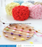 1/1.7nm 100% Nylon Feather with Ping Pong New Special Fancy Yarn for Scarf Sweater