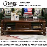 Fashion Home Furniture Solid Wood Long Coffee Table (AS839)
