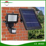 Outdoor Waterproof 3W LED Flood Light 60LED Spotlight with Motion Sensor and Adjustable Solar Panel