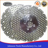 105-300mm Double Dots Electroplated Diamond Saw Blades for Marble and Granite Cutting