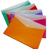 Office Supply Cards Colorful Double Color File Bag