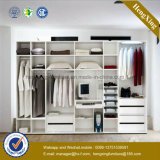 MDF White Wardrobe Indoor Home Furniture (HX-LC2033)