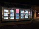 Acrylic Frame LED Light Pocket for Real Estate Agent Advertising Signs