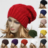 Wholesale Fashion Women's Winter Beanie Hats Knitted Hats