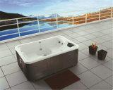 Monalisa Latest Design Outdoor Whirlpool Jacuzzi Bathtub (M-3331)