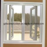 White Color PVC Casement Window with Double Glazing (TS-172)