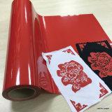 Vivid Color Heat Transfer Vinyl for T-Shirt / PU Based Vinyl Width 50 Cm for All Fabric