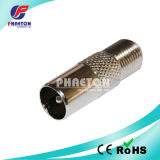 9.5mm PAL Male to F Famale Connector TV Adapter