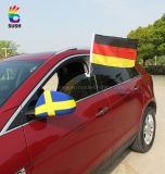 Screen Printing Polyester Car Flag with Plastic Pole (SS-CF2)