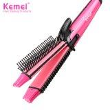 Kemei6833 New 4 in 1 Professional Wholesale Electric Hair Straightener & Curler