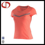 100% Polyester Breathable Wholesale Girls Sports Running Shirts