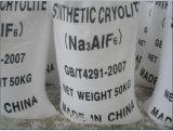 White Powder Synthetic Cryolite (Na3AlF6) for Bonded Abrasives