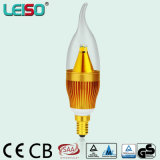 1900k CREE Chips PC>0.9 Dimmable CE ERP LED Candle Lamp
