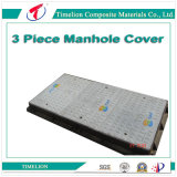 Rebound Proof Telecom FRP Manhole Cover with Frame