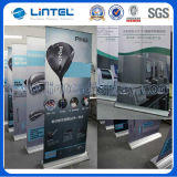 Chrome Coated Banner Stand Aluminum Roll up (LT-02)