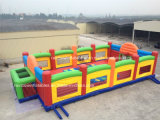 Giant Amusement Park Inflatable Football Pitch Made in China