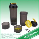 Various Type 700ml Plastic Protein Shaker Bottle with Pill Box