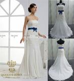 Chiffon Bead Wedding Dress, Bridal Gown for Wedding