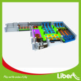 Liben Kids Amusement Popular Combined Trampoline Park