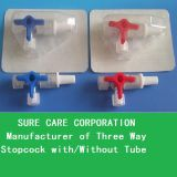 Medical Disposable Three Way Stopcock with/Without Tube (SC-TWS001)