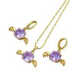 Free Sample Valentine′s Gift Angel Jewelry Set (60735)