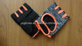 Safety Glove-Half Finger Glove-Cycling Glove- Bicycle Glove-Sport Glove-PVC Dotted Glove