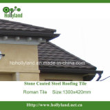 Stone Coated Steel Roofing Tile (Roman Tile)