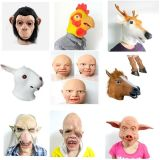 China Best Supplier Halloween Masks Latex Animal Masks Human Face Masks
