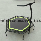 Foldable Jumping for Fitness Mini Trampoline with Handle