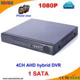 4 Channel Standalone Ahd Hybrid H 264 CCTV Software DVR